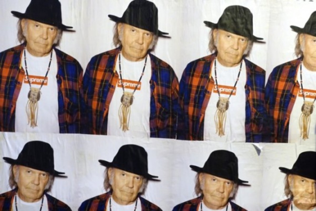Neil Young X Supreme Poster - 1