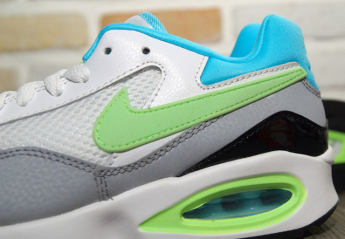Nike Air Max ST - White/Clearwater/Flash Lime/Wolf Grey - 1