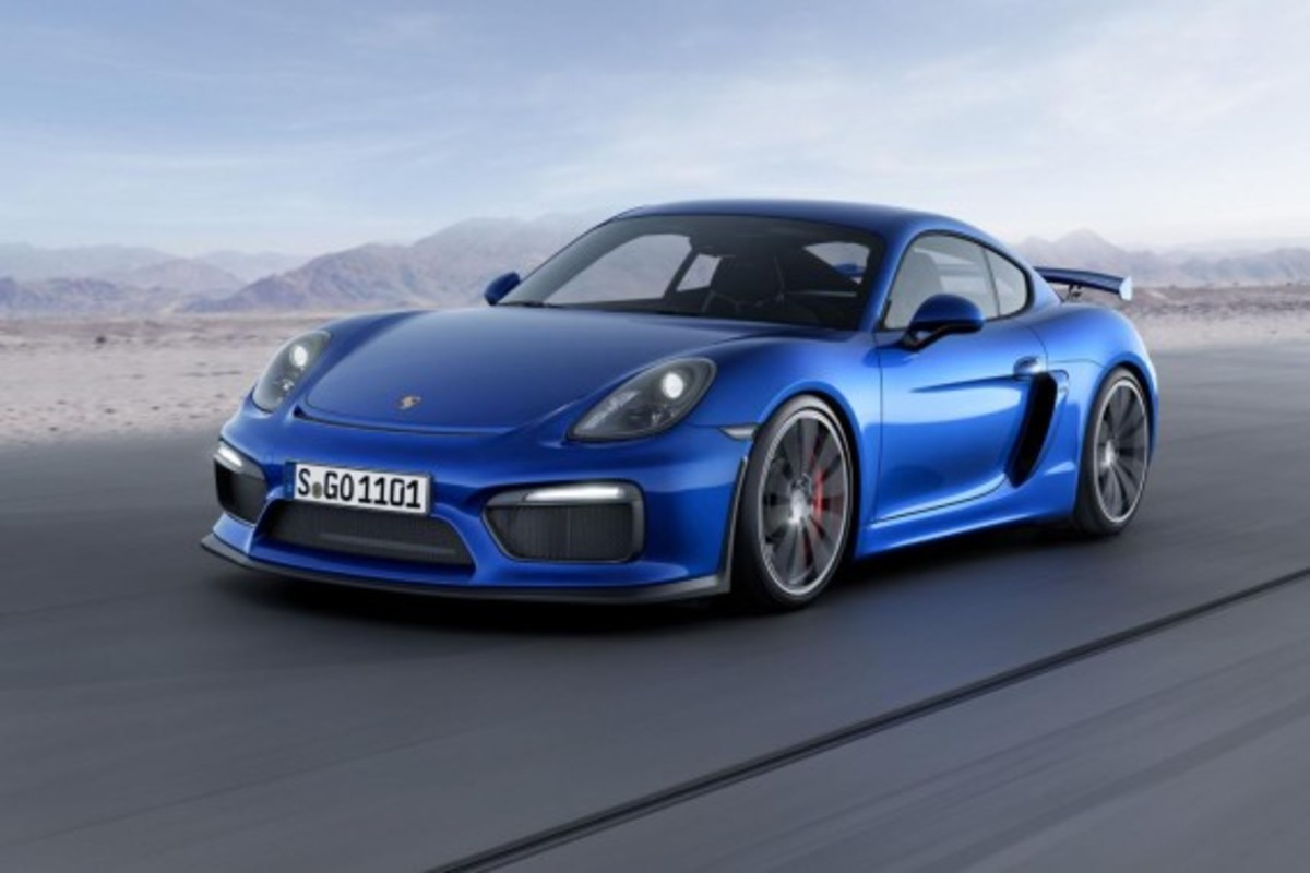 Porsche Cayman GT4 Unveiled with 385-HP - 4