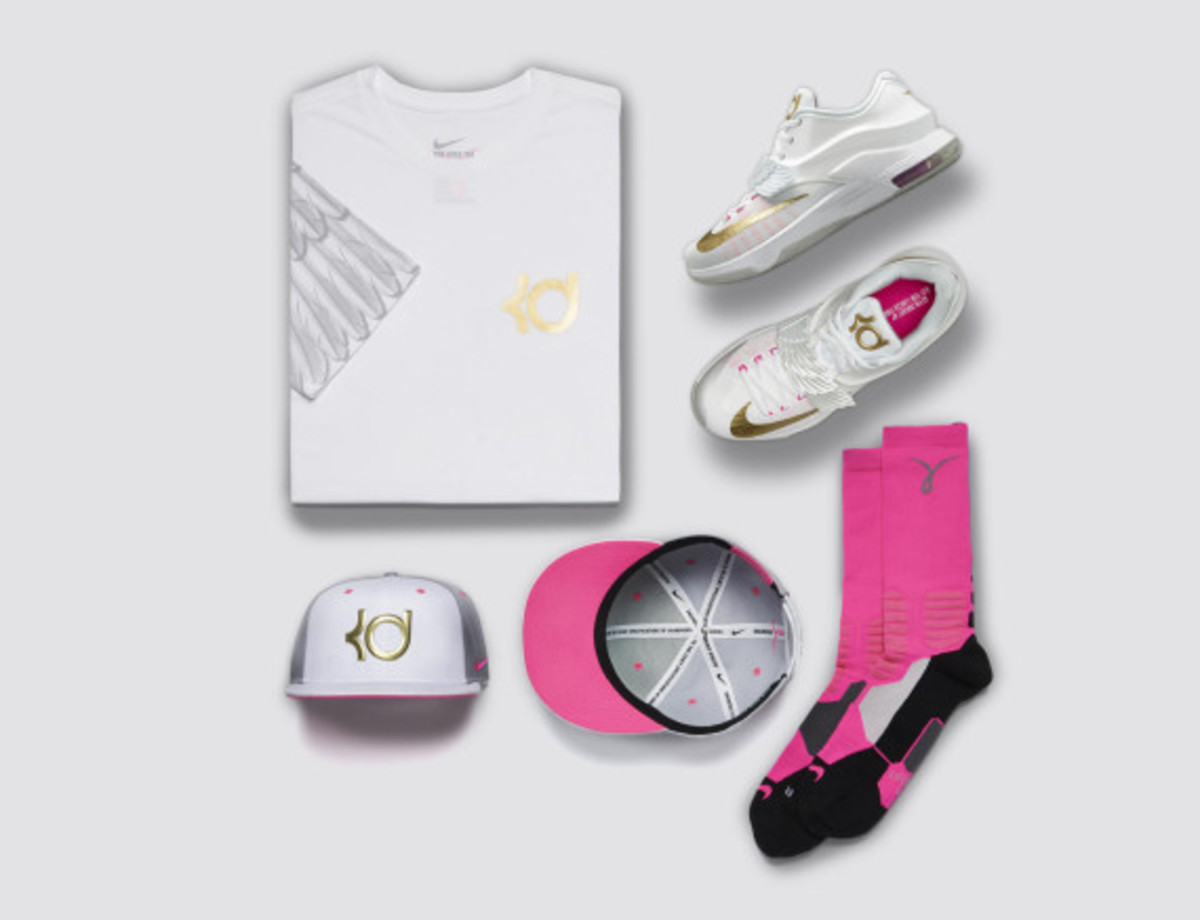 "Nike KD7 ""Aunt Pearl"" - Honors Durant's Late Aunt - 4"