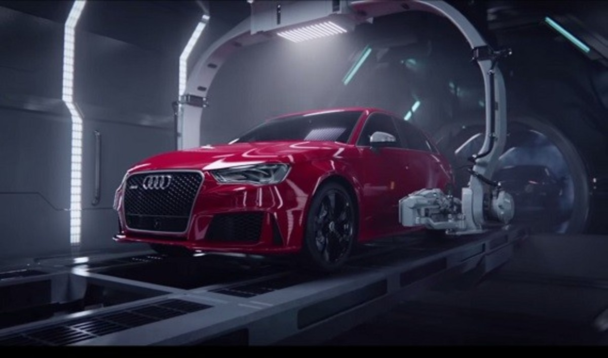 Birth of the 2015 Audi RS3 - 1