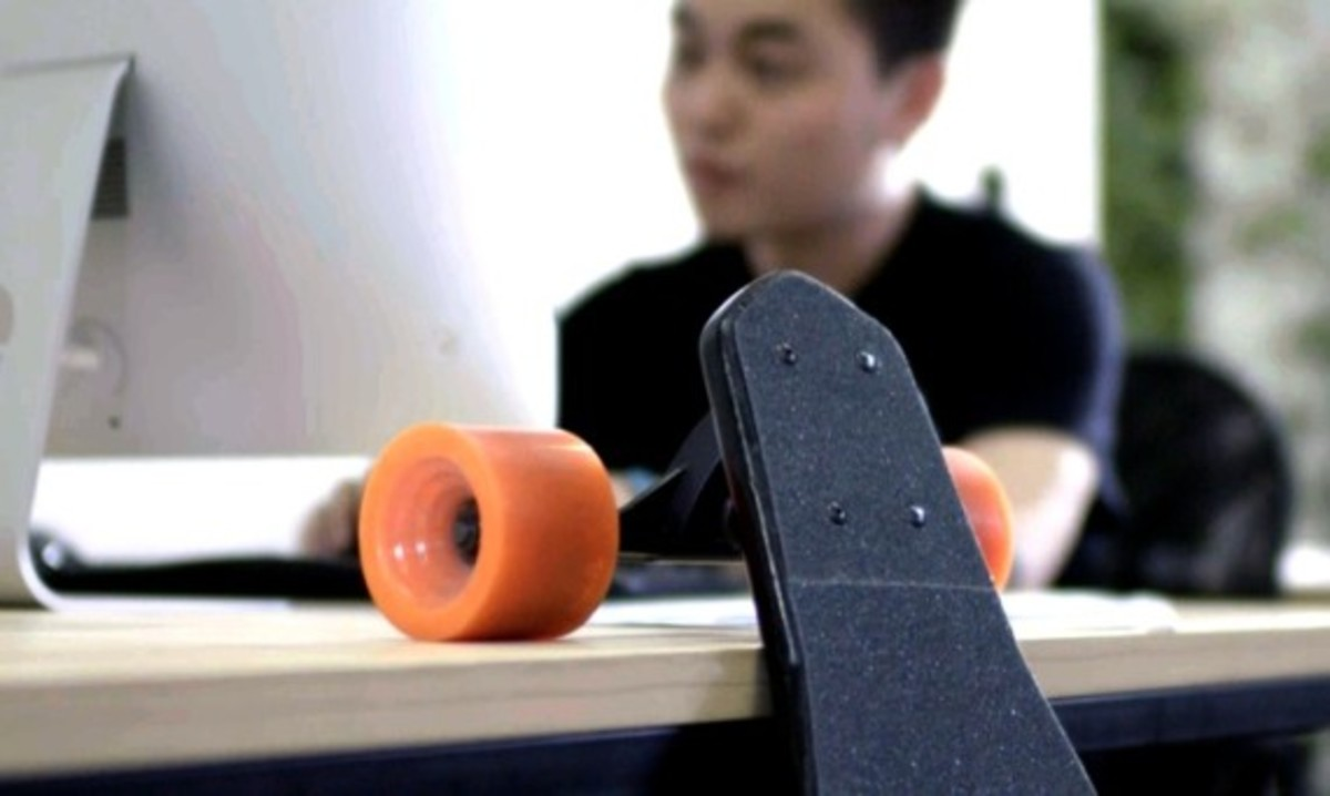Stary - The World's Lightest Electric Skateboard - 6