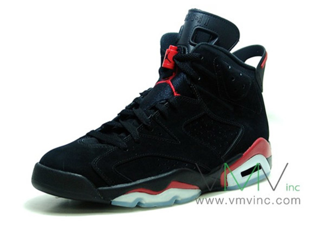 differently e7f97 59ea2 Air Jordan VI (6) Retro Black Varsity Red   Available Now