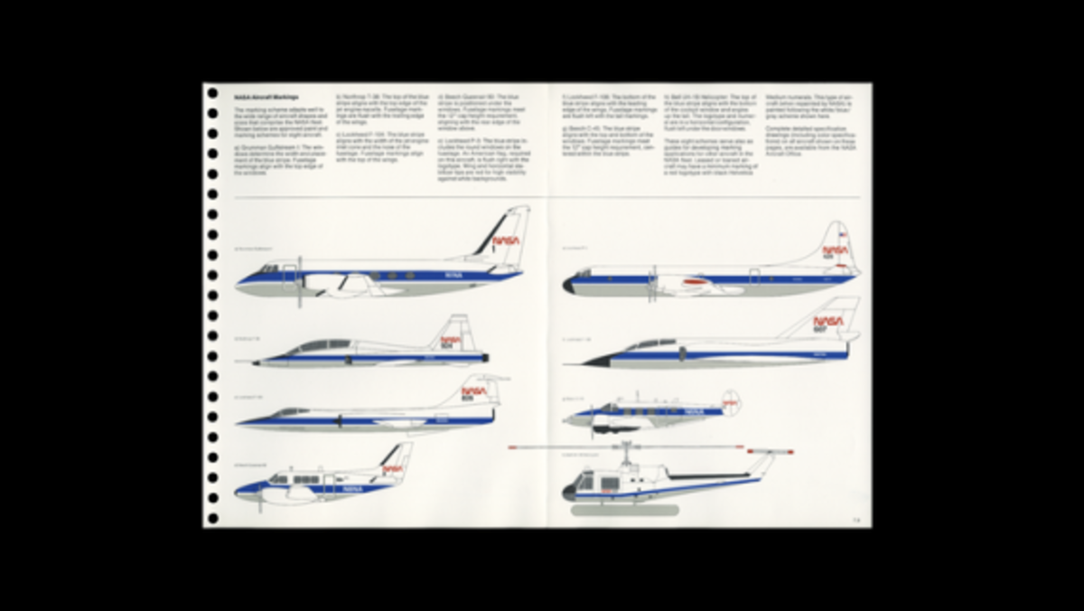 Use this NASA Graphics Standards Manual to Design Like a Rocket Scientist - 9
