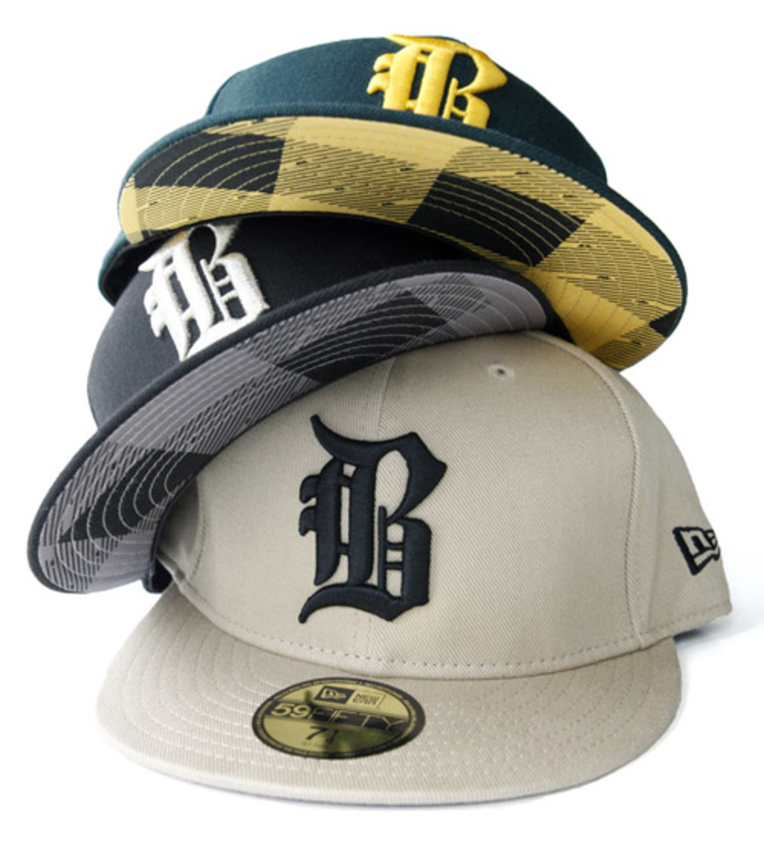 d9e70f46912 Benny Gold x New Era - Doughboy 2 - 59FIFTY Fitted Caps - Freshness Mag