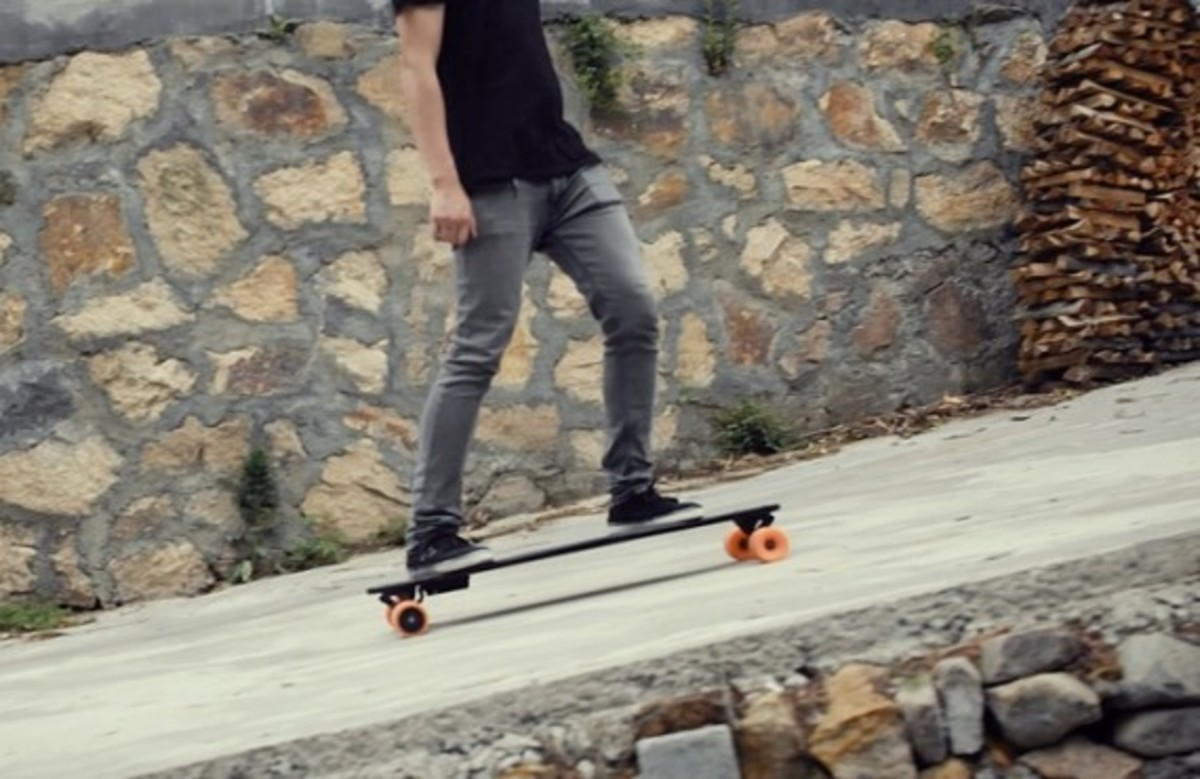 Stary - The World's Lightest Electric Skateboard - 1