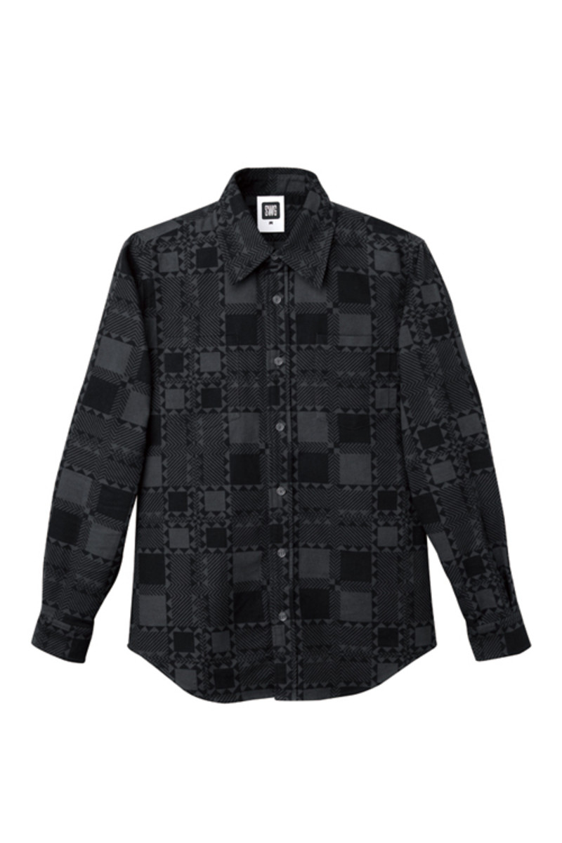 tribe-check-flannel-shirt-black-oct