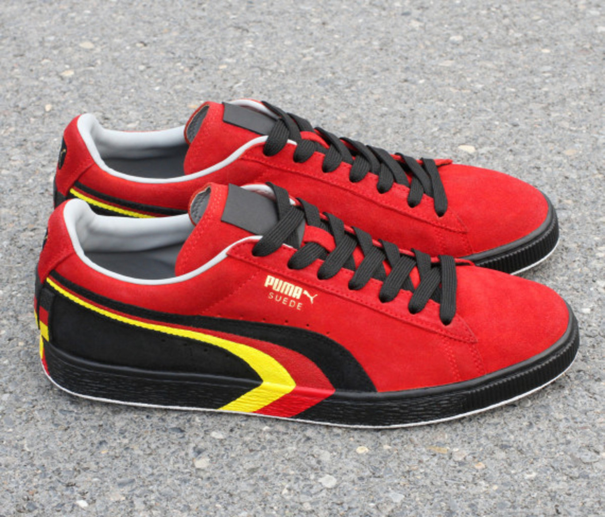"PUMA Suede - ""SCHUMI"" Customs by Zhijun Wang - 3"