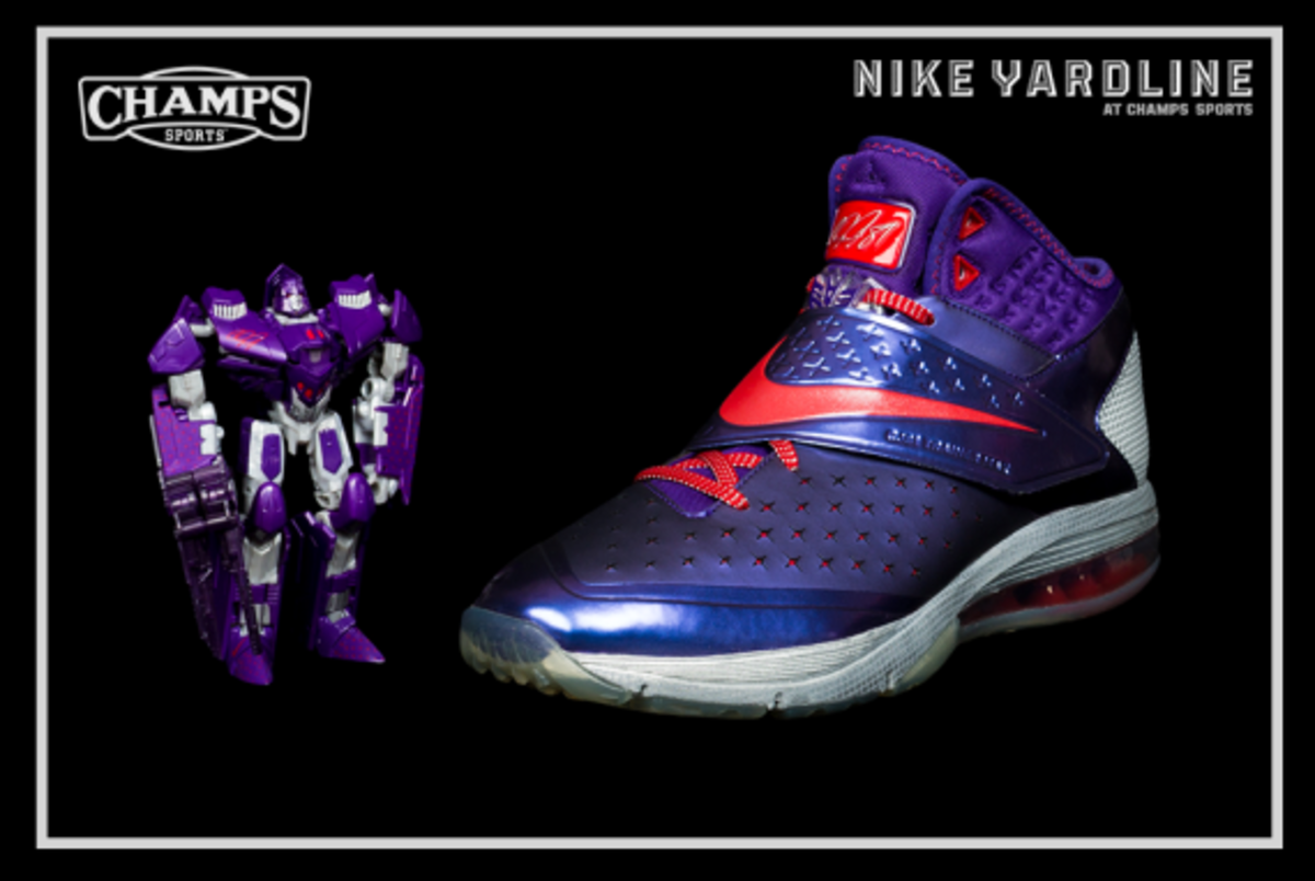 The Game Plan by Champs Sports - Hasbro x Nike Football - Megatron Collection - 0