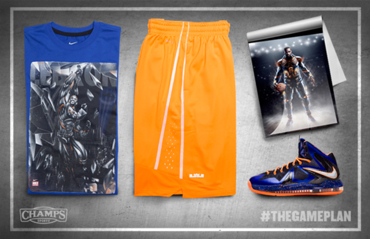 The Game Plan by Champs Sports - Nike Basketball Superhuman Collection - 1