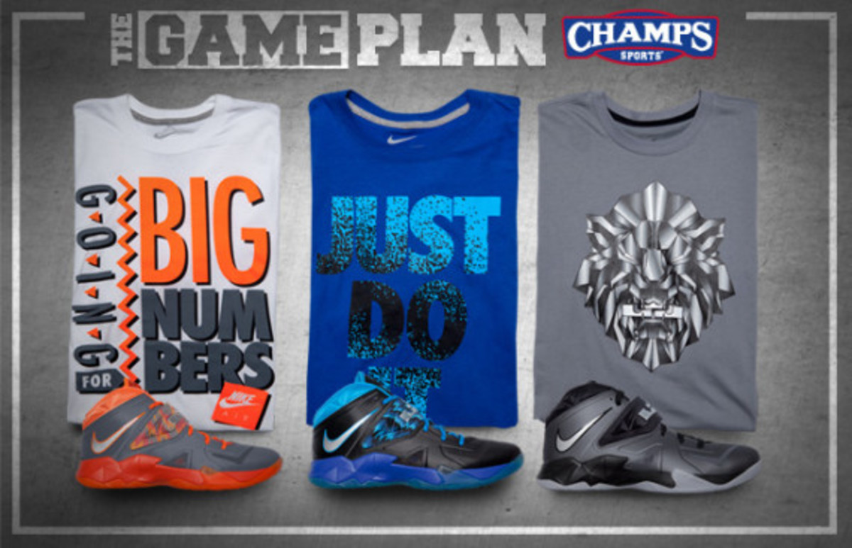 The Game Plan by Champs Sports - Nike LeBron Solider 7 Collection - 0