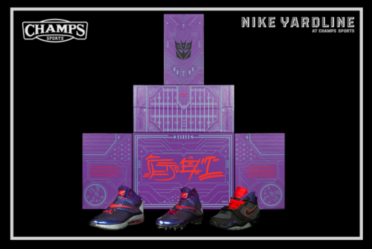 The Game Plan by Champs Sports - Hasbro x Nike Football - Megatron Collection - 5