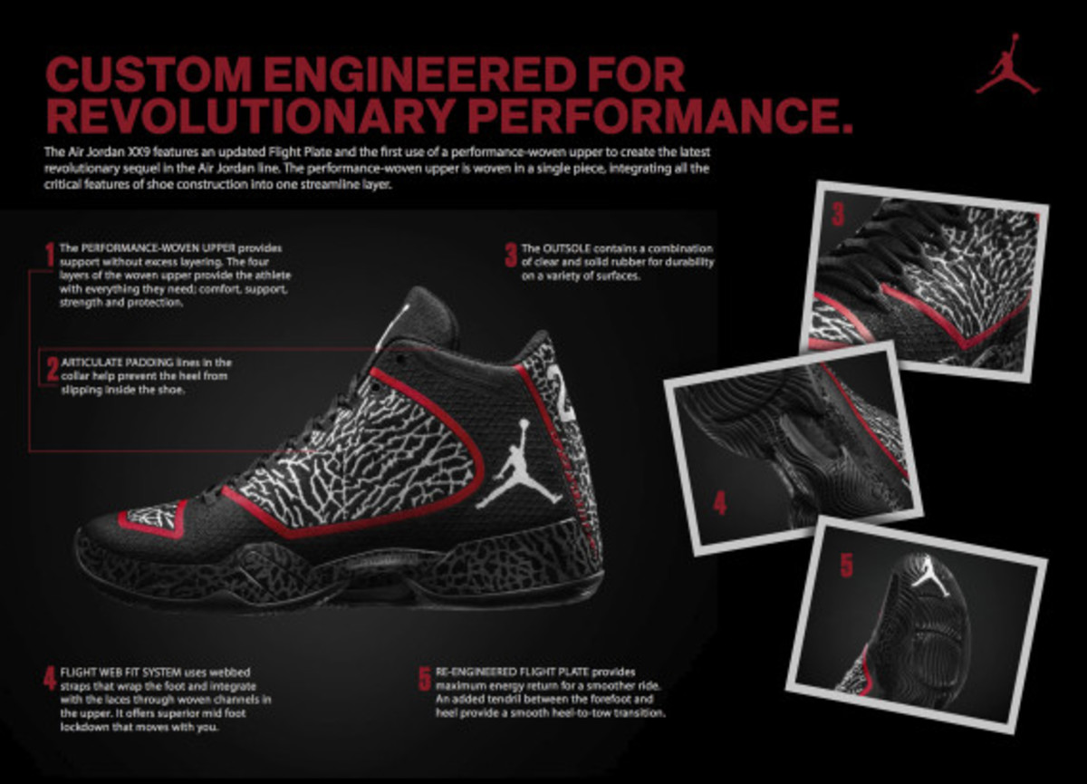 Air Jordan XX9 with First-Ever Performance Woven Upper | Officially Unveiled - 17