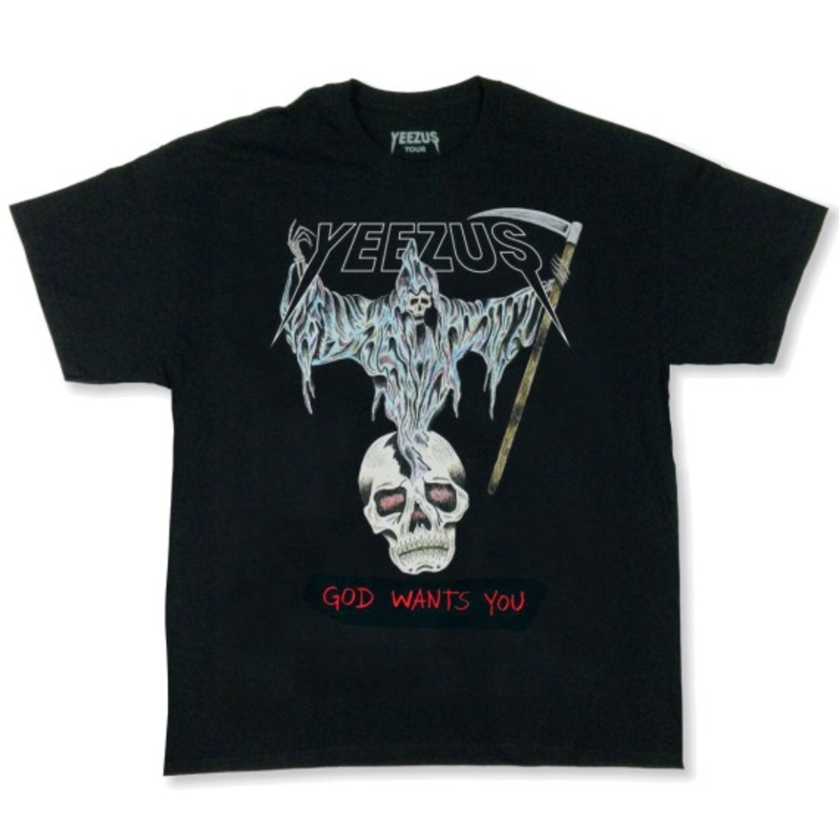 """Kanye West - """"Yeezus Tour"""" Merchandise   Available Online - 1"""