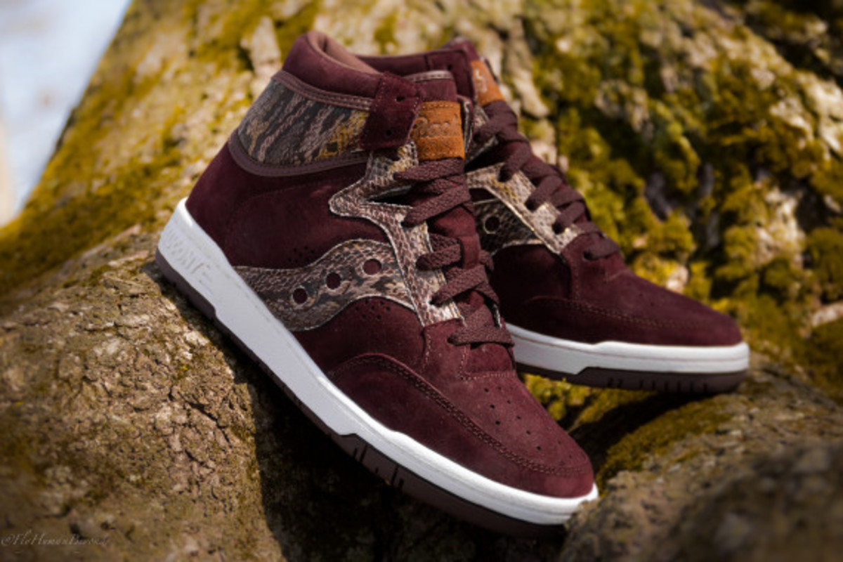 "Packer Shoes x Saucony Hangtime Hi - ""Brown Snake"" - 1"