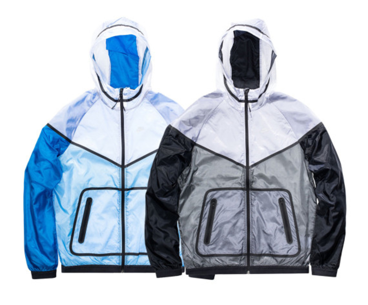 fragment design x Nike Lab Fragment Tech Windrunner Jacket - 0