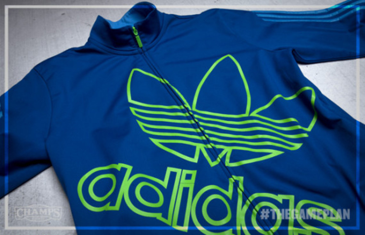 1504fc91f The Game Plan by Champs Sports - adidas Originals adiColor Royal-Green Pack  - 6
