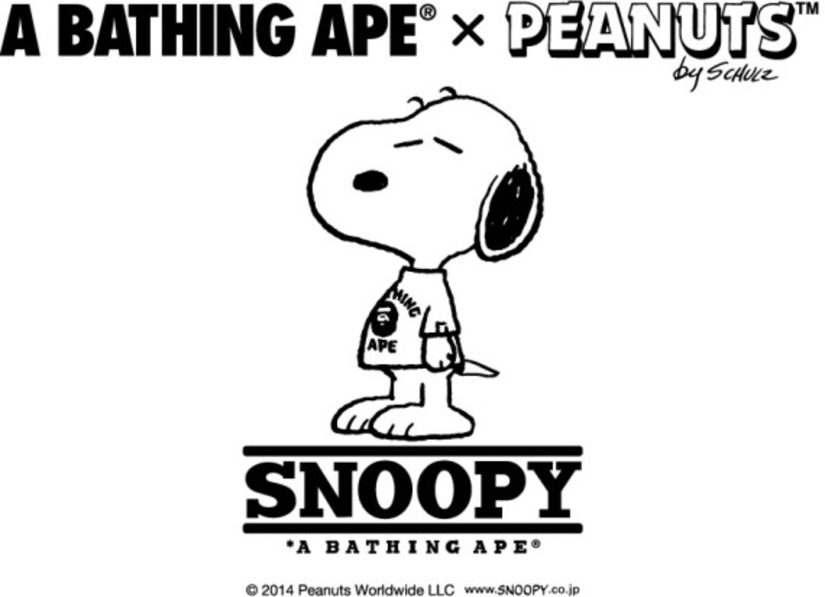 Peanuts x A BATHING APE – Collaboration Collection - 9