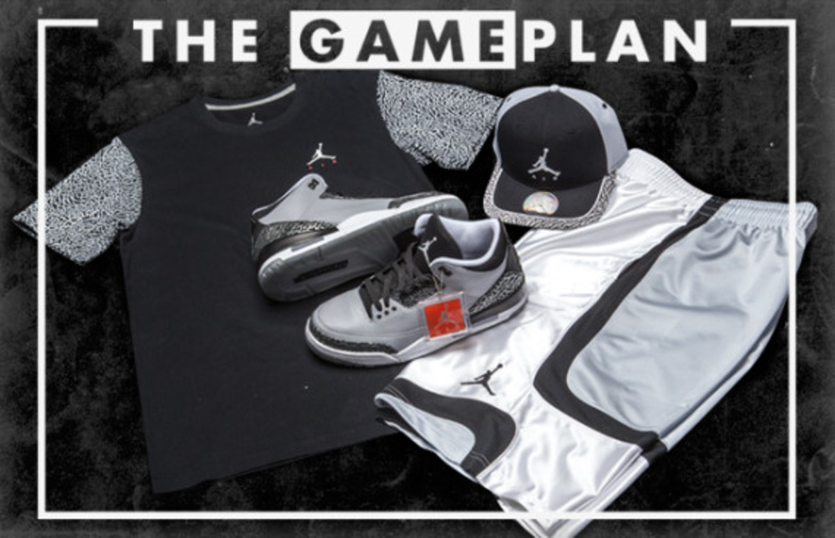 "The Game Plan by Champs Sports - Air Jordan 3 ""Wolf Grey"" Collection - 1"