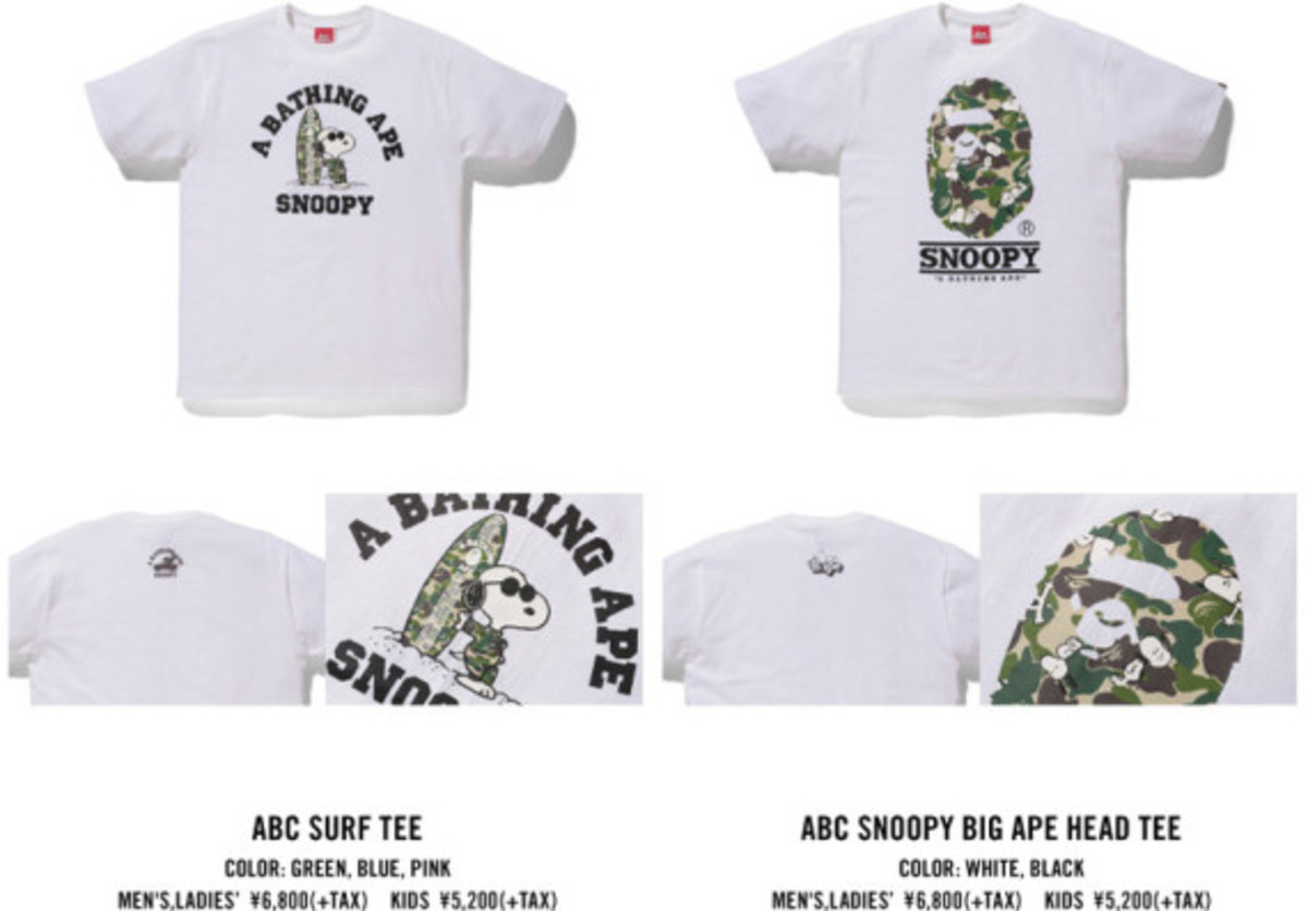 Peanuts x A BATHING APE – Collaboration Collection - 5