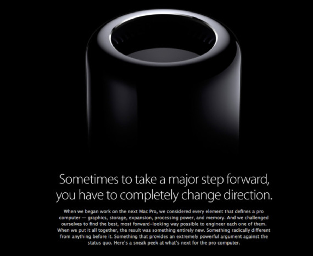 Apple's New Mac Pro Desktop Computer - Officially Unveiled - 1