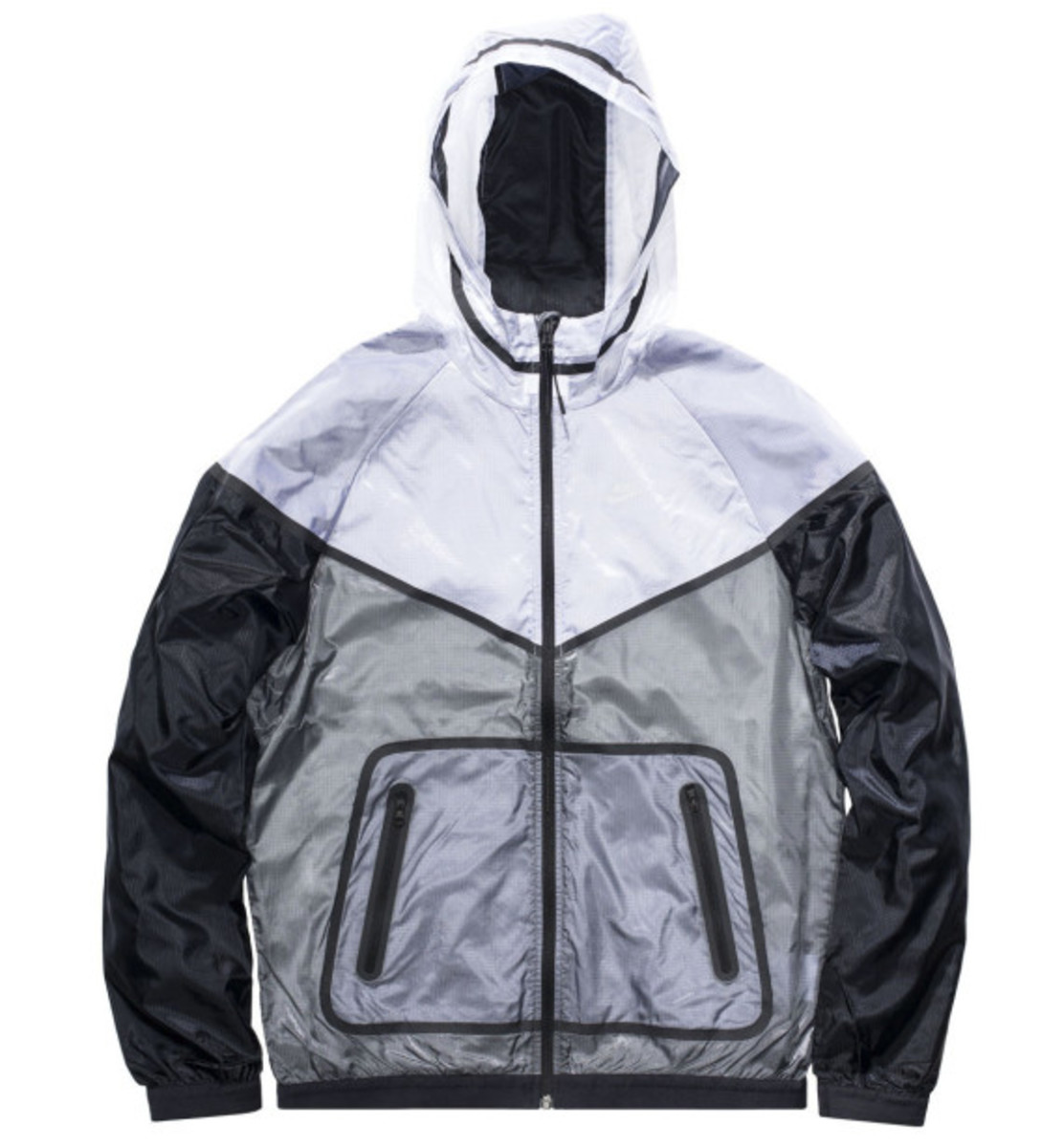 fragment design x Nike Lab Fragment Tech Windrunner Jacket - 3
