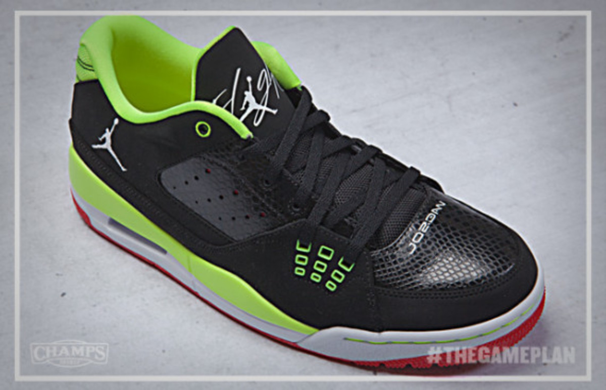 The Game Plan by Champs Sports - Jordan Fire Red Volt Collection - 2