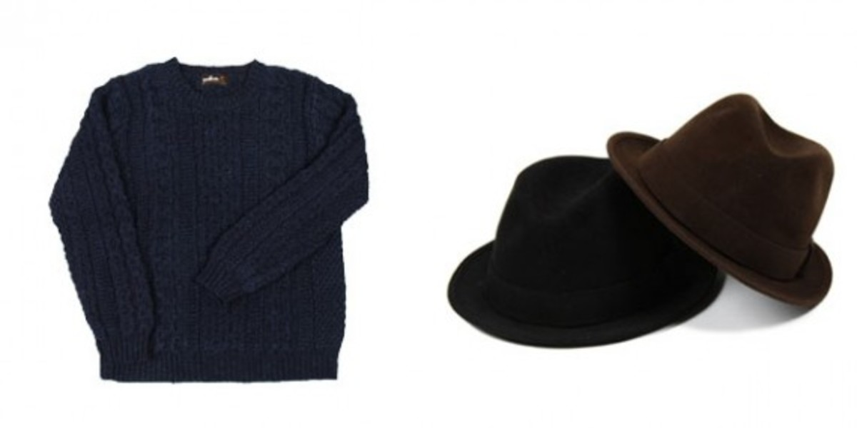 Sweater and Hats