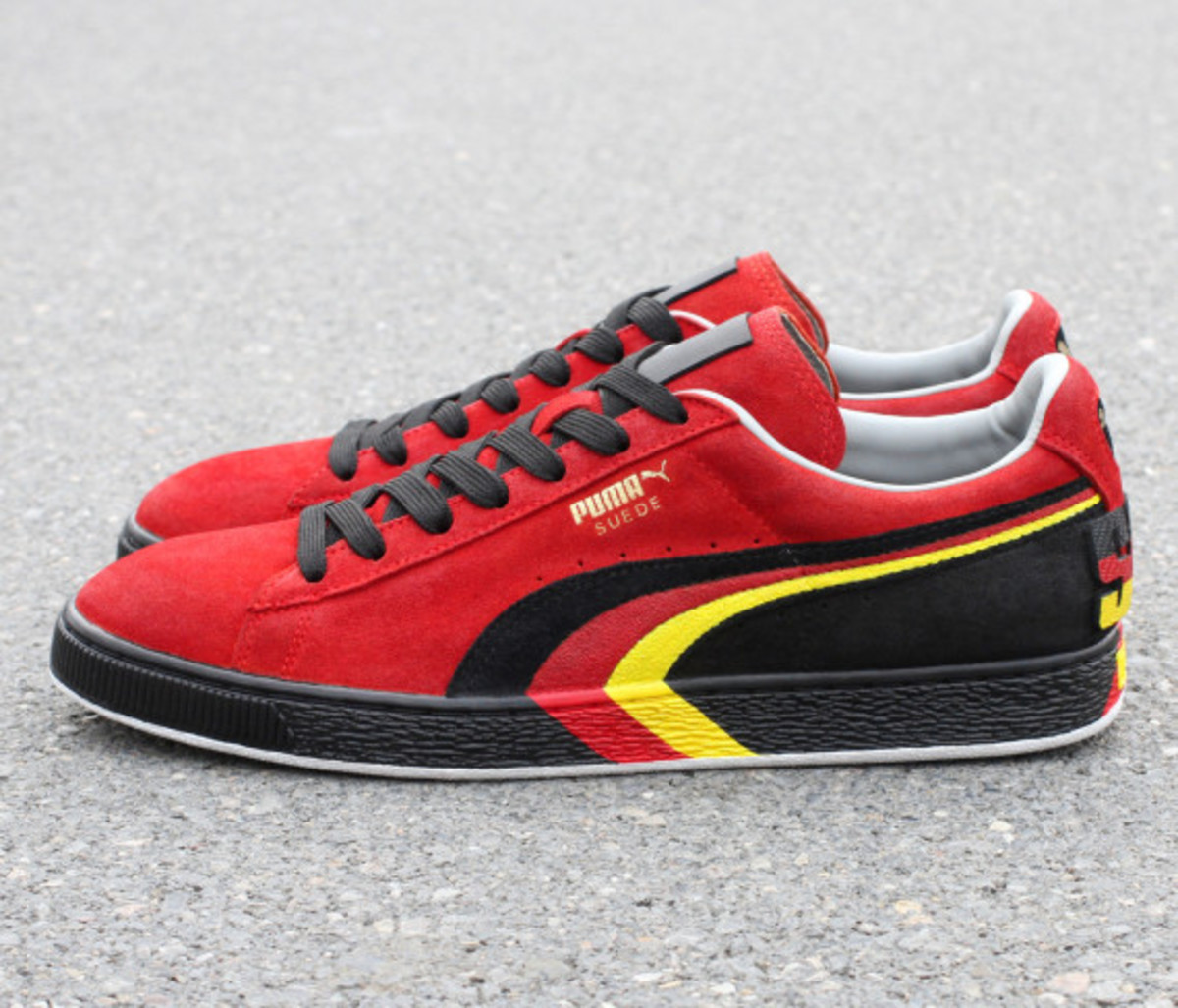 "PUMA Suede - ""SCHUMI"" Customs by Zhijun Wang - 0"