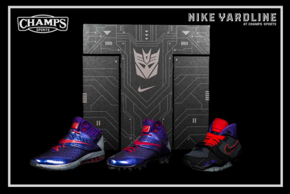 The Game Plan by Champs Sports - Hasbro x Nike Football - Megatron Collection - 4