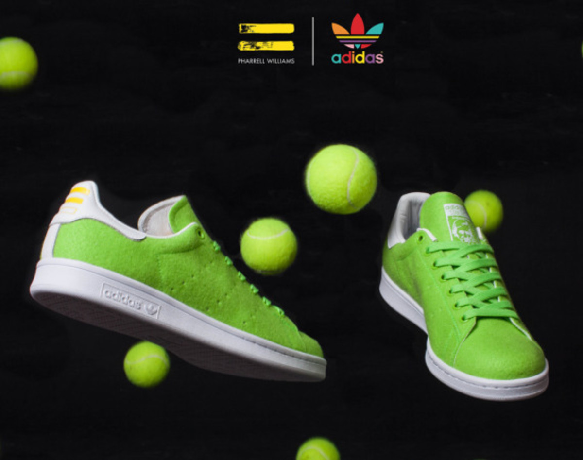 "Pharrell Williams x adidas Originals Stan Smith - ""Tennis"" Pack - 0"