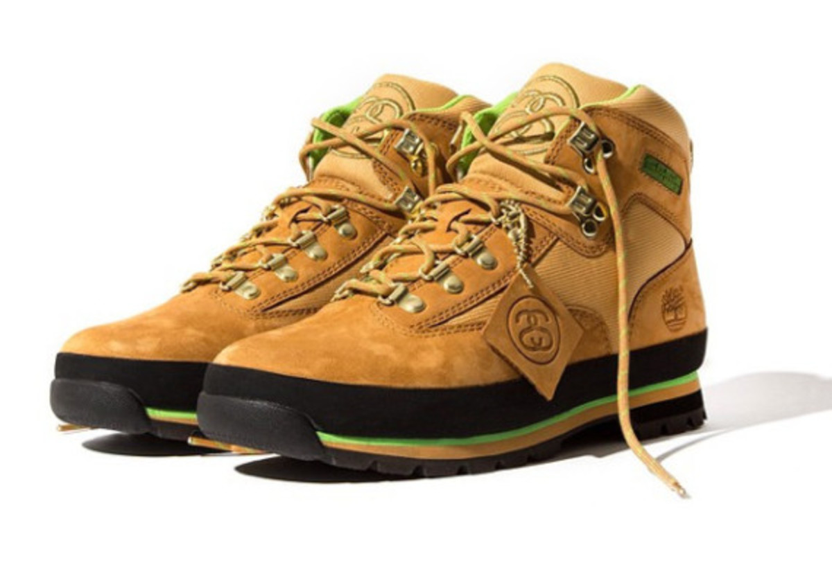 Stussy for Timberland - Euro Hiker Boots | Release Info - 0