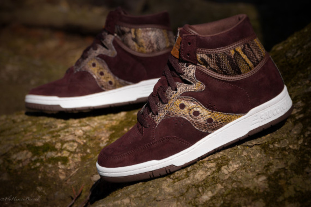 "Packer Shoes x Saucony Hangtime Hi - ""Brown Snake"" - 4"