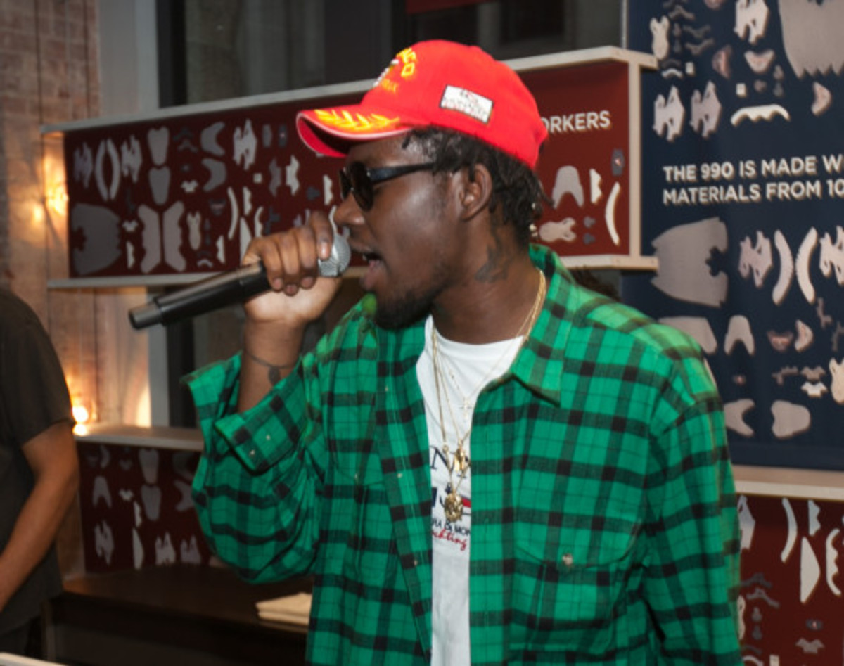 "New Balance Made In USA ""Authors"" Collection - Preview Event with Theophilus London - 21"