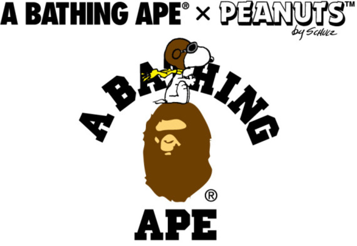 Peanuts x A BATHING APE – Collaboration Collection - 0