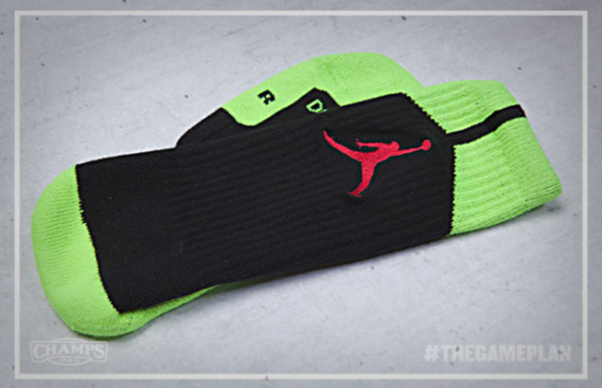 The Game Plan by Champs Sports - Jordan Fire Red Volt Collection - 9