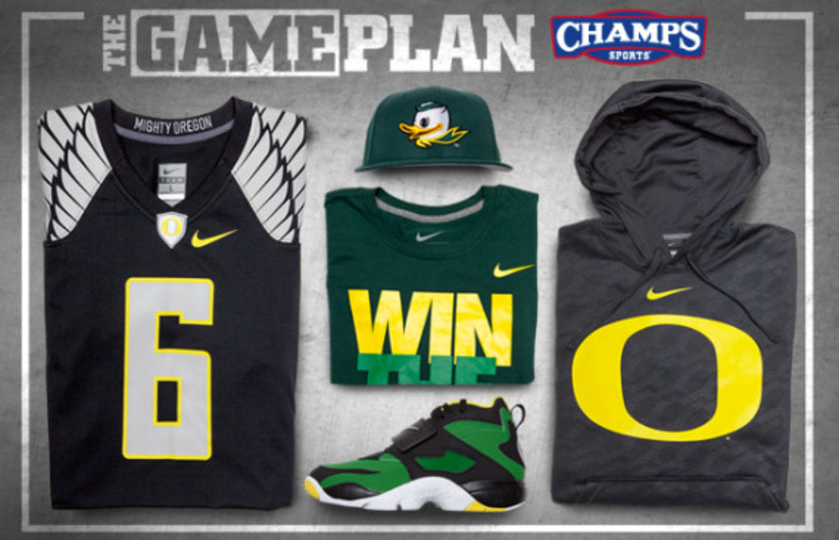 The Game Plan by Champs Sports - Nike Oregon Ducks Collection - 0
