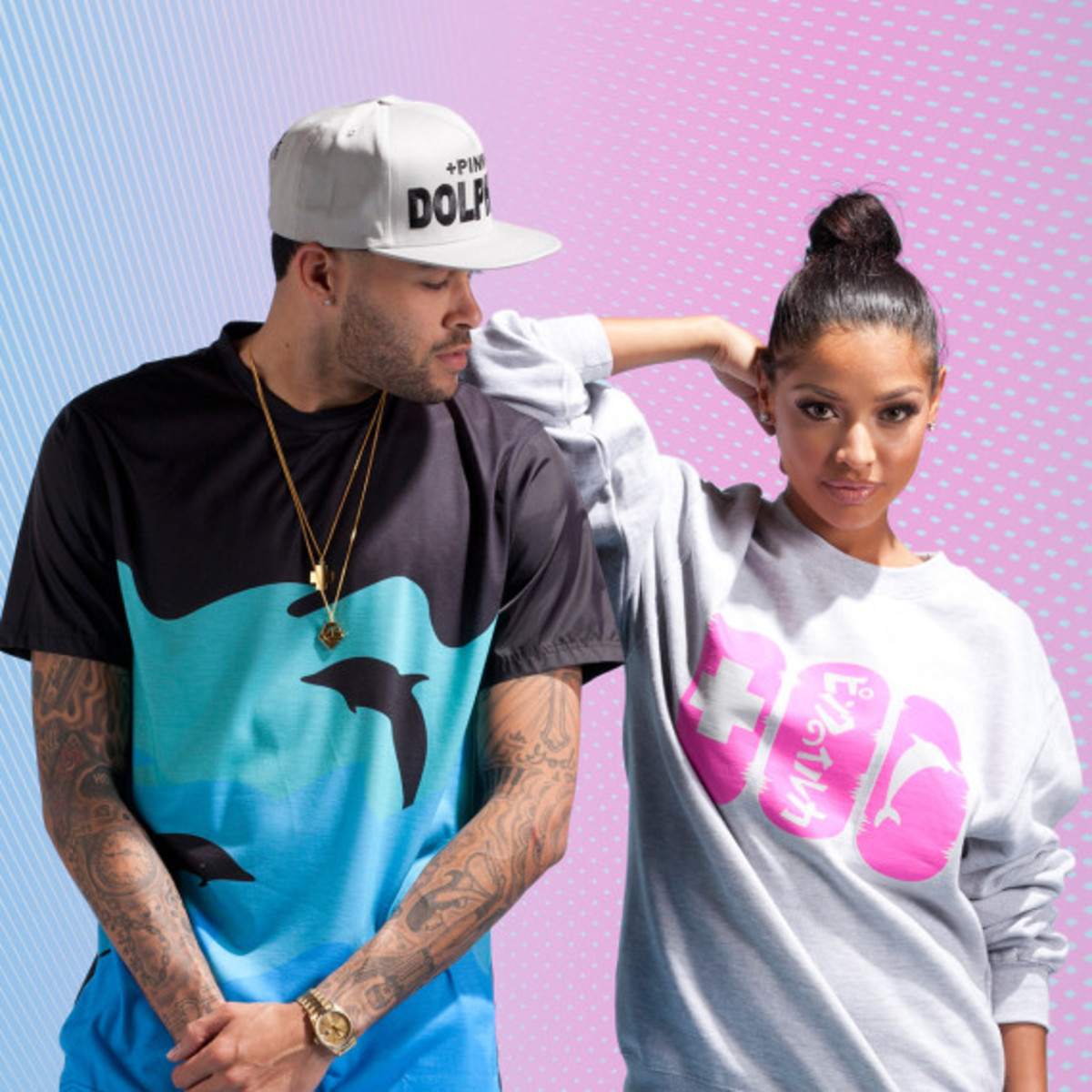 Pink + Dolphin – Summer 2014 Collection Lookbook - 0
