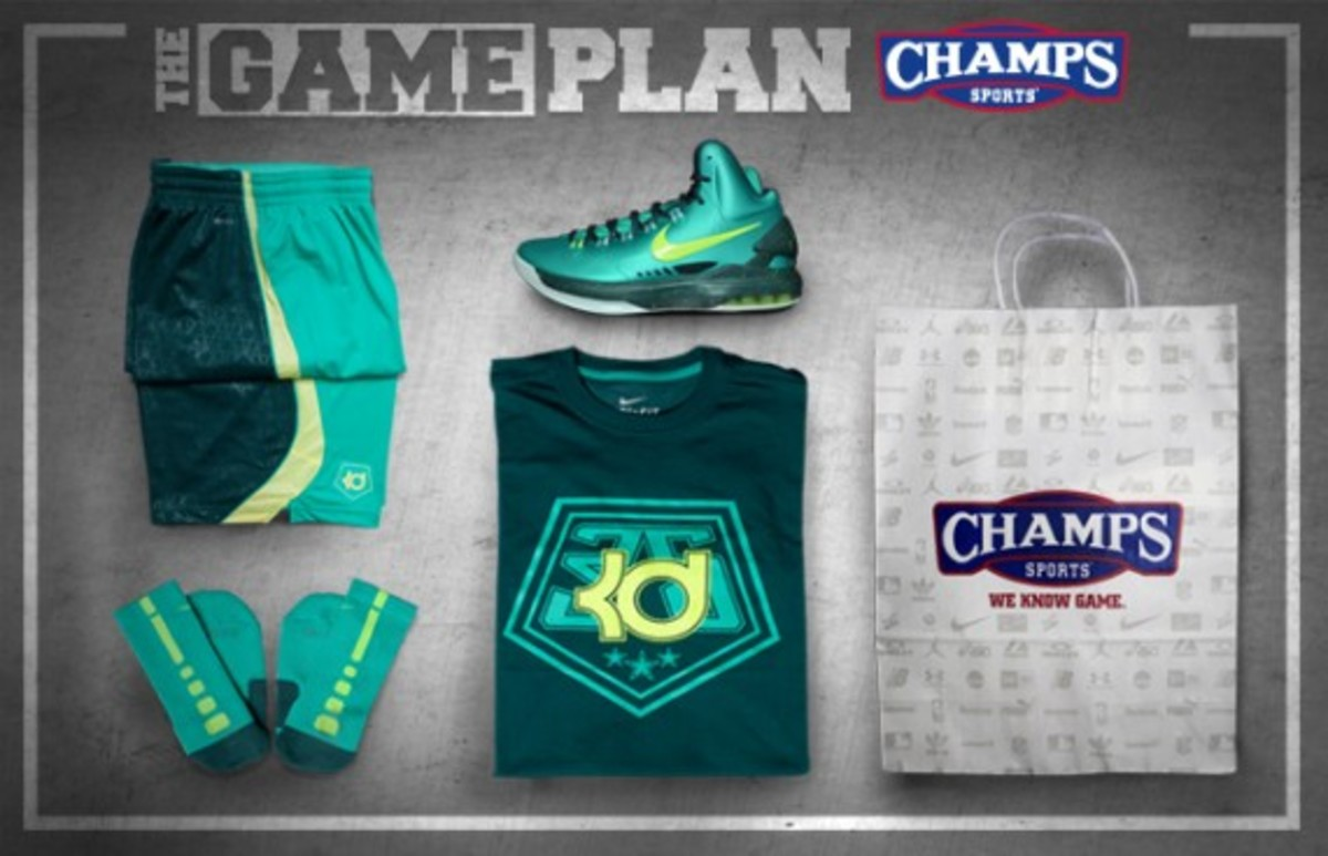 "The Game Plan by Champs Sports - KD V ""Hulk"" Collection - 0"