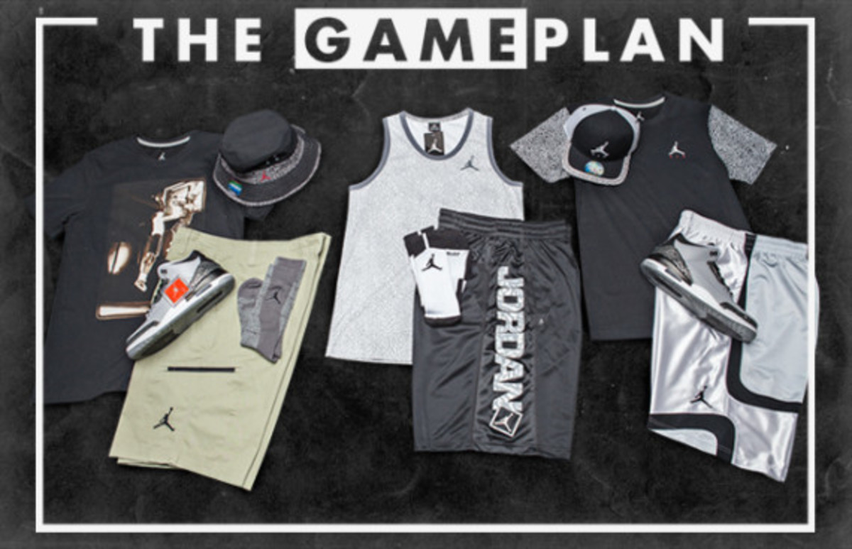 "The Game Plan by Champs Sports - Air Jordan 3 ""Wolf Grey"" Collection - 0"