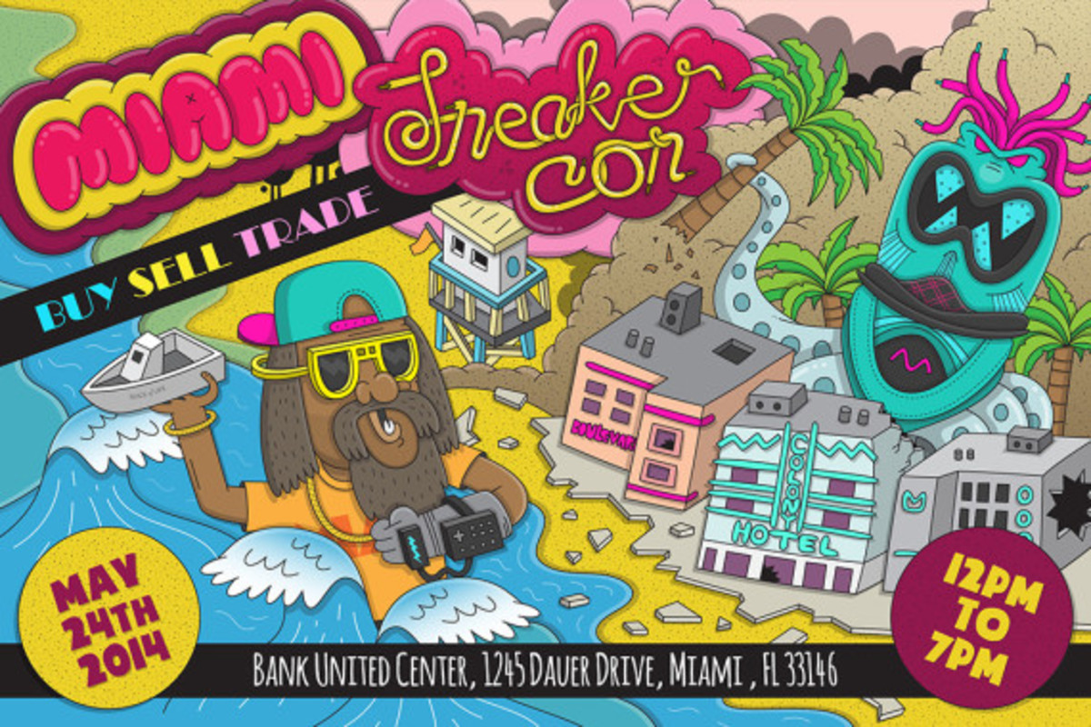 Sneaker Con Miami – May 23rd, 2014 | Event Reminder - 0