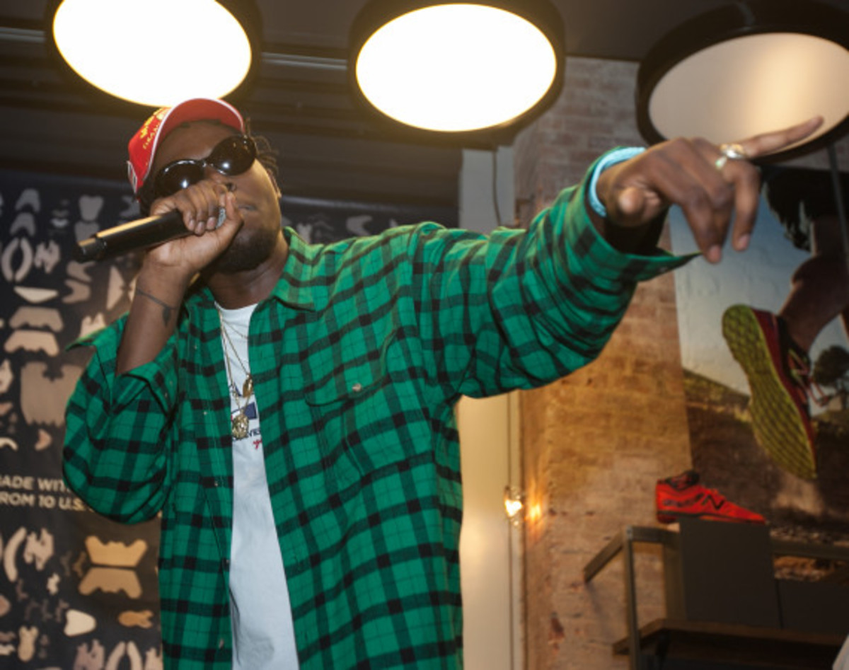 "New Balance Made In USA ""Authors"" Collection - Preview Event with Theophilus London - 22"