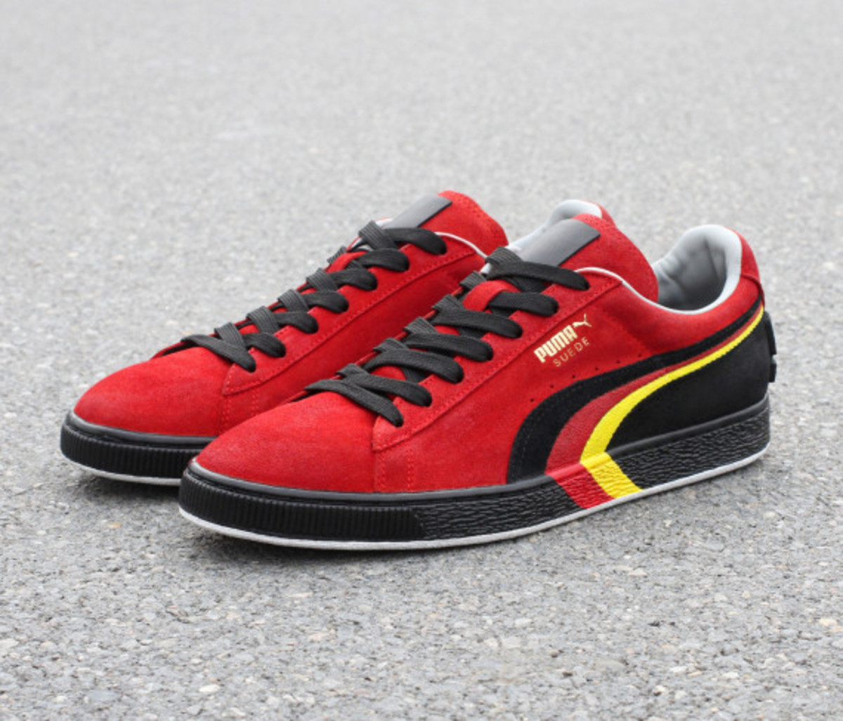 "PUMA Suede - ""SCHUMI"" Customs by Zhijun Wang - 4"