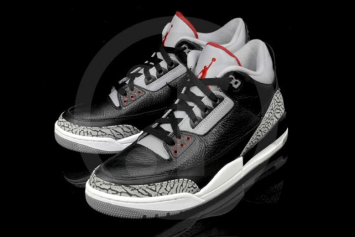 air jordan 3 retro black cement. Black Bedroom Furniture Sets. Home Design Ideas