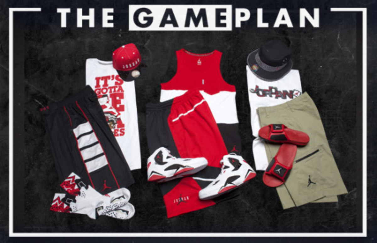 The Game Plan by Champs Sports - Jordan Carmine Collection - 0