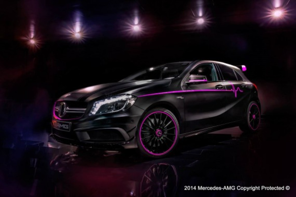 "Mercedes-Benz A45 AMG - ""Erika"" Custom - 3"