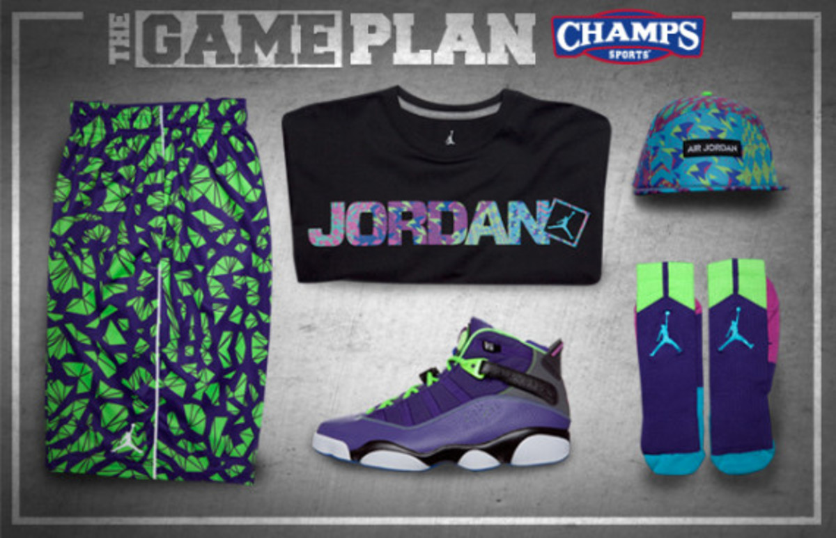 "The Game Plan by Champs Sports - Jordan Brand ""Bel-Air"" Collection - 0"