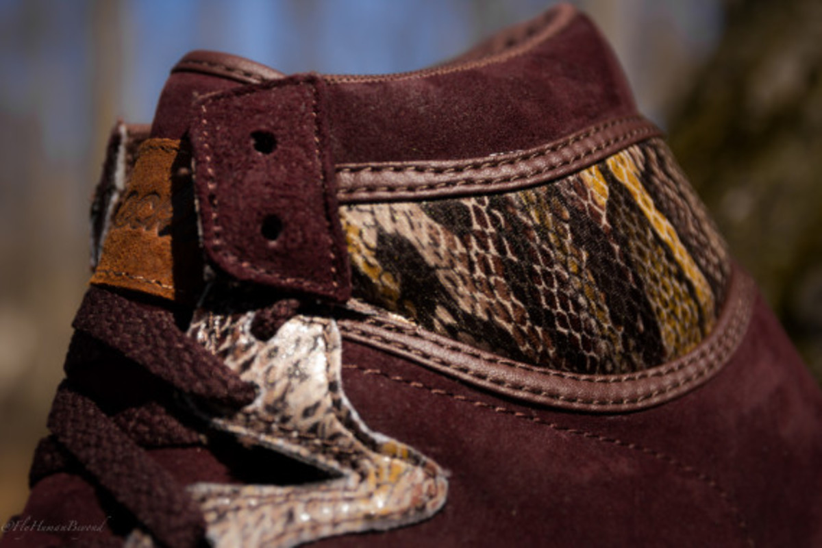 "Packer Shoes x Saucony Hangtime Hi - ""Brown Snake"" - 5"
