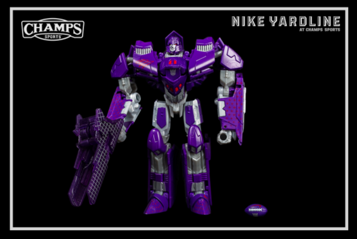 The Game Plan by Champs Sports - Hasbro x Nike Football - Megatron Collection - 7