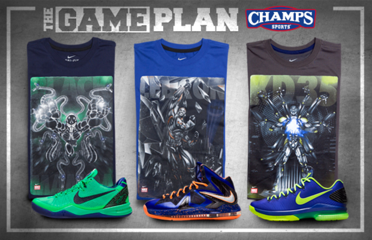 The Game Plan by Champs Sports - Nike Basketball Superhuman Collection - 0